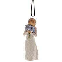 Willow Tree - Forget me not Ornament