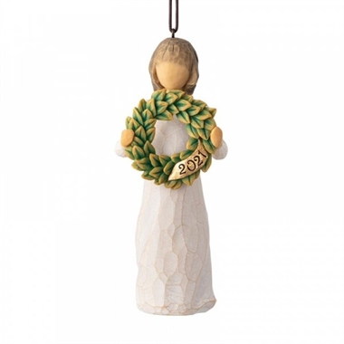 Willow Tree - 2021 Ornament H: 11 cm.